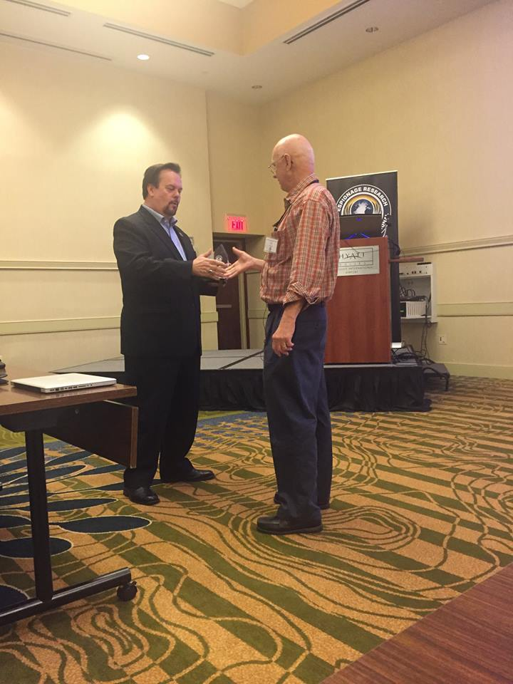2015 ERII Conference - Glenn H. Whidden Lifetime Achievement Award